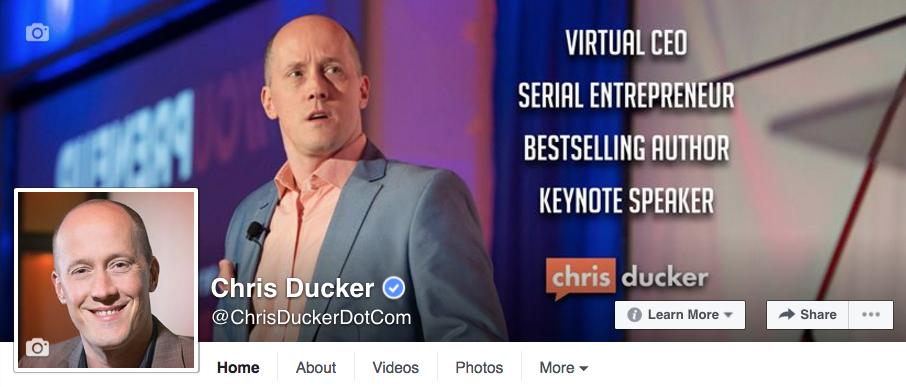 chris ducker facebook page